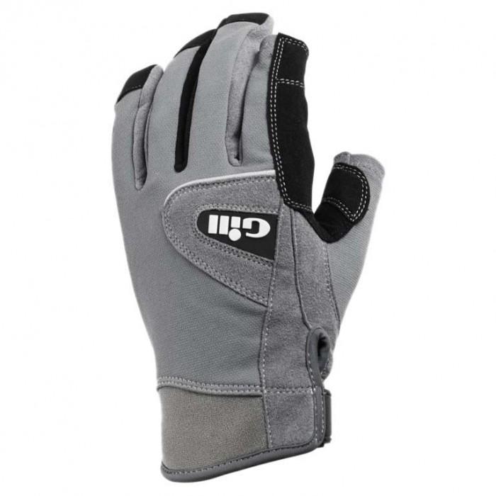 [해외]GILL Deckhand Gloves Short Finger 14136326141 Grey