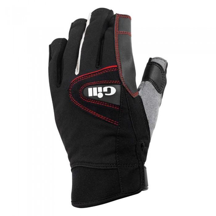 [해외]GILL Championship Gloves Short Finger 14136326143 Black