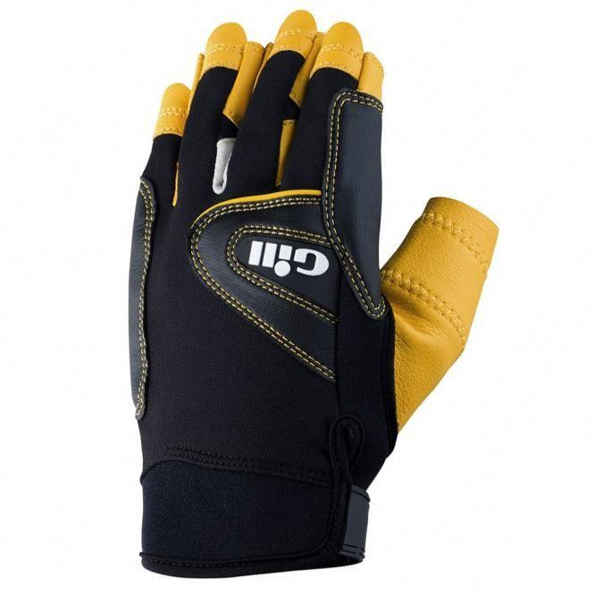 [해외]GILL Pro Gloves Short Finger 14136326146 Black