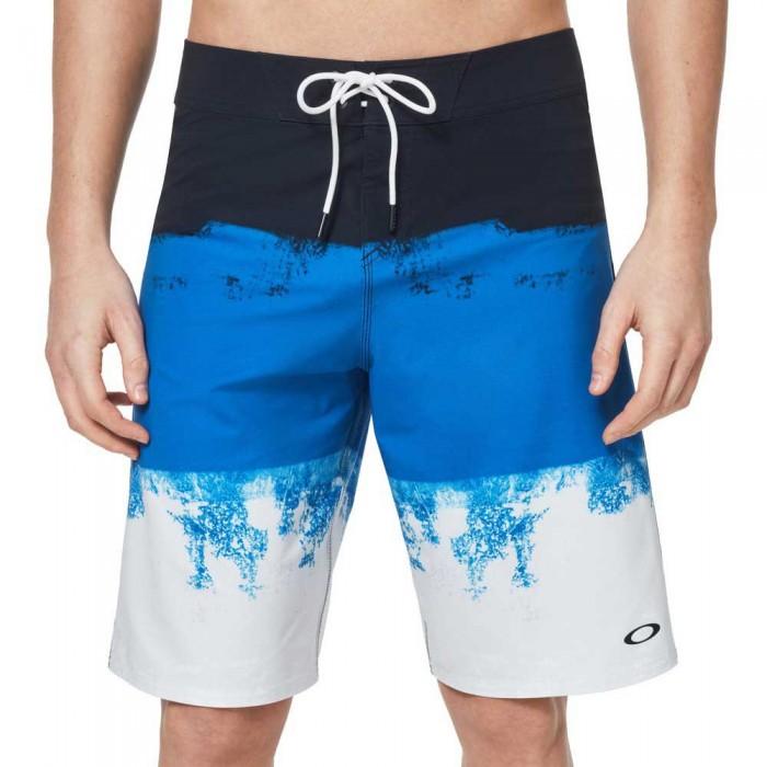 [해외]오클리 APPAREL Color Block Shade 21 14137330491 Uniform Blue