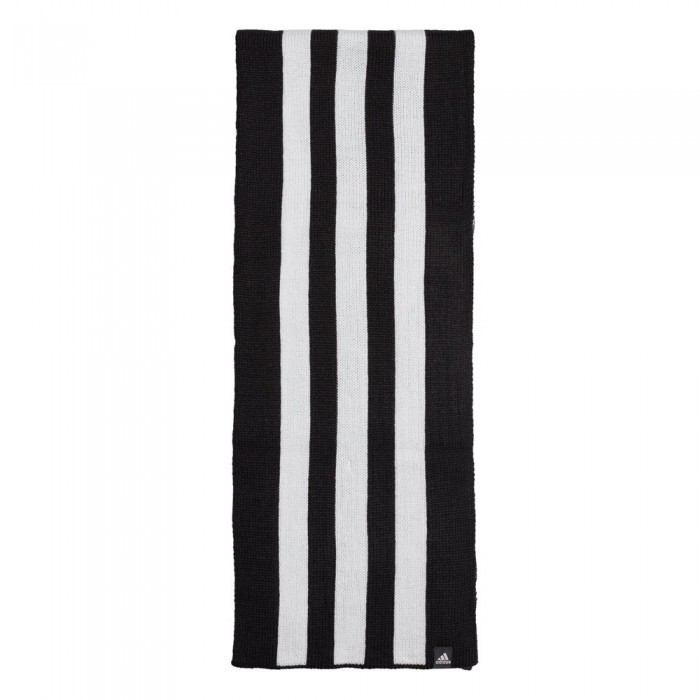 [해외]아디다스 3 Stripes Scarf 6137669637 Black / White / White