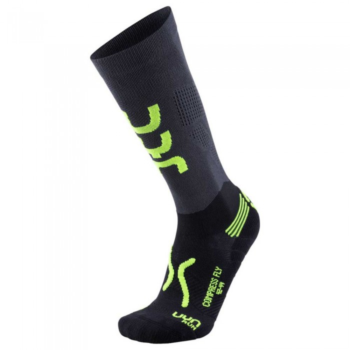 [해외]UYN Compression Fly 6137636168 Anthracite / Yellow Fluo