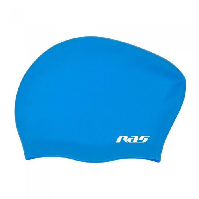 [해외]RAS Long Hair Silicone Cap 6137482491 Celeste