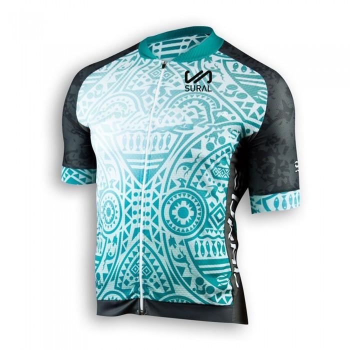 [해외]SURAL Jersey Cycling Race 6136073933 Black / Turquiose