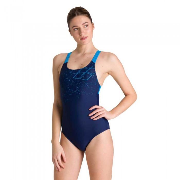 [해외]아레나 Lightning Swim Pro 6137461519 Navy / Turquoise