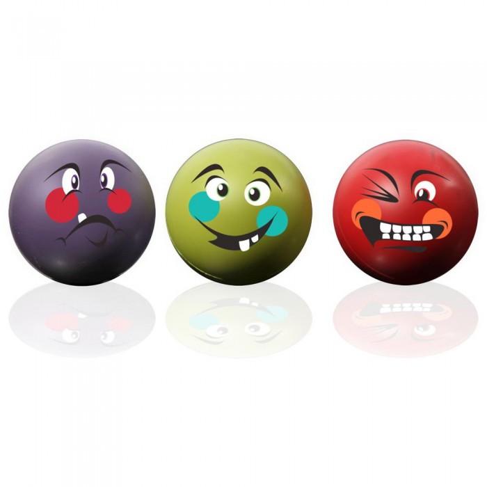 [해외]GYMSTICK Anti-Stress Ball 3pcs 7137685762 Purple / Red / Green