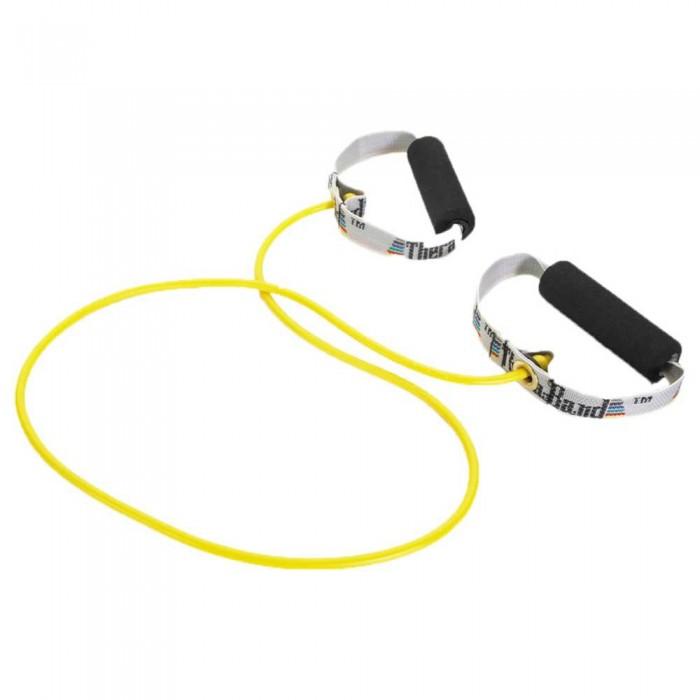 [해외]THERABAND Tubing With Handles Soft 7137731867 Yellow