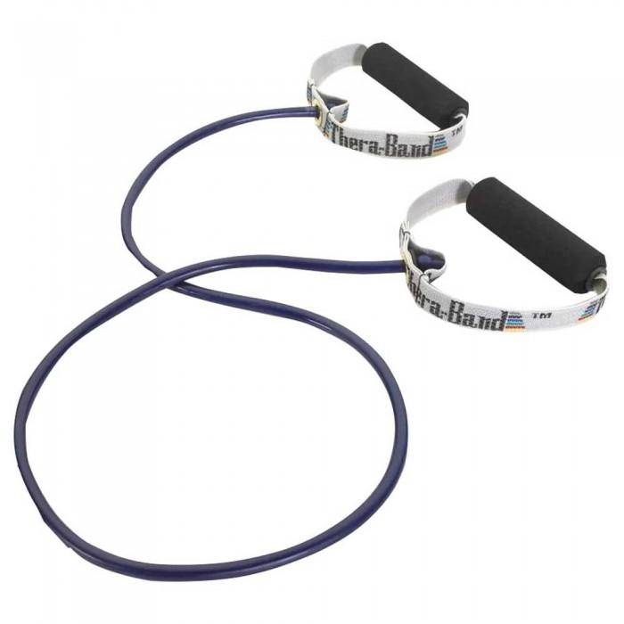 [해외]THERABAND Tubing With Handles Extra Strong 7137731870 Blue