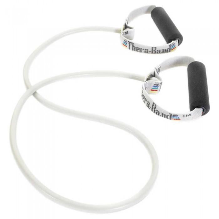 [해외]THERABAND Tubing With Handles Super Strong 7137731872 Silver