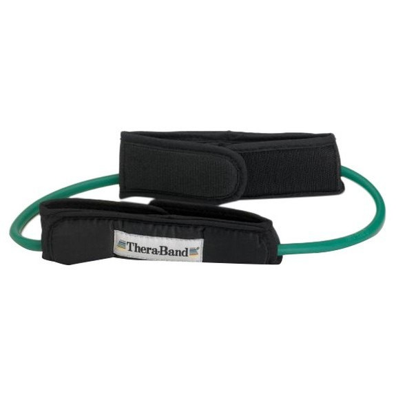 [해외]THERABAND Tubing Loop Padded Cuffs 7137731864 Green