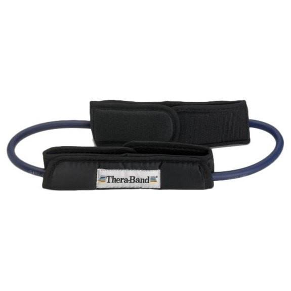 [해외]THERABAND Tubing Loop Padded Cuffs 7137731865 Blue