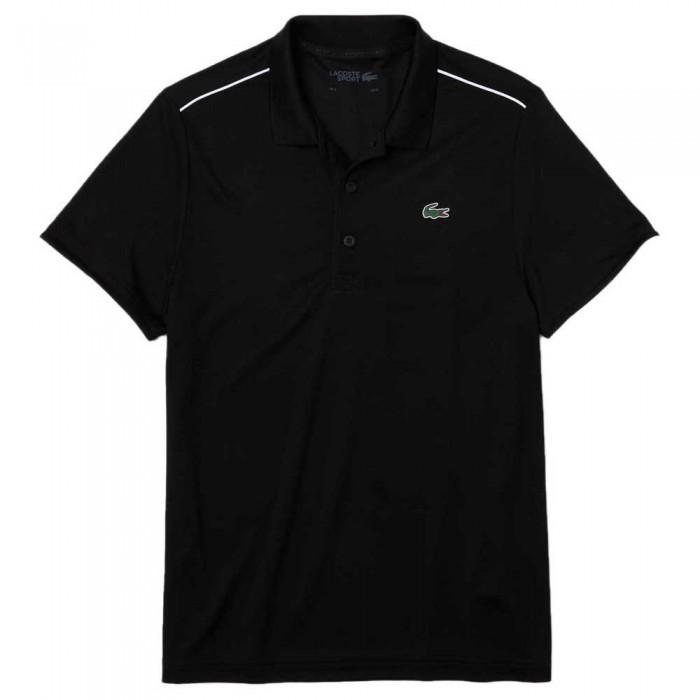[해외]라코스테 Sport Ribbed Pique 7137685030 Black / White