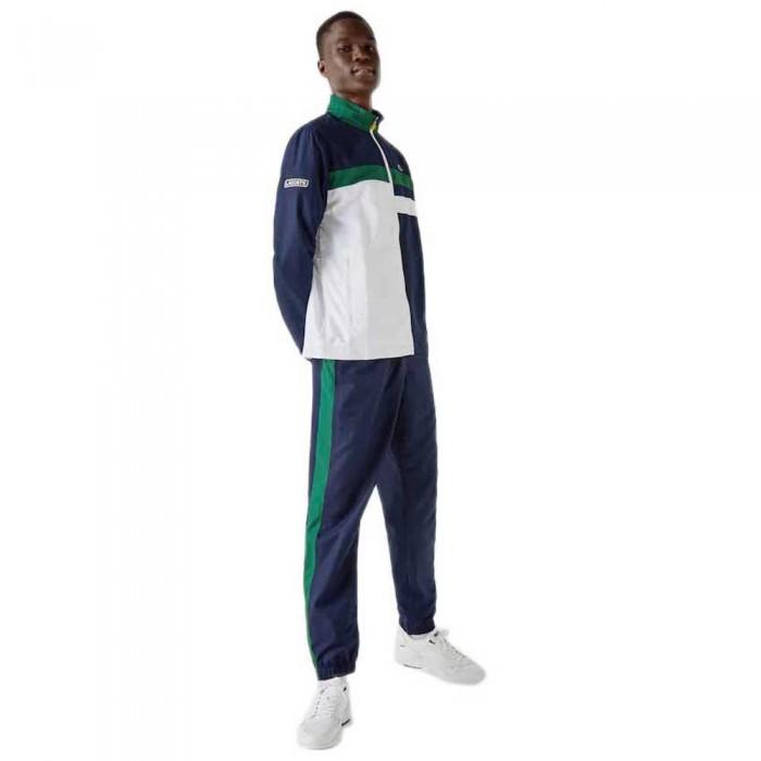 [해외]라코스테 Sport Lightweight Colourblock 7137685361 Navy Blue / White / Green / Yellow