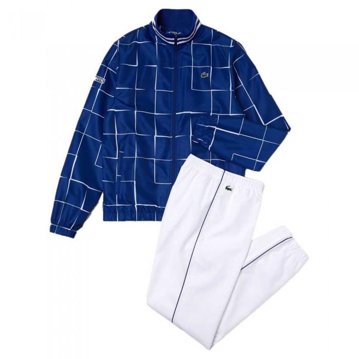 [해외]라코스테 Sport Lightweight Print 7137685360 Blue / White