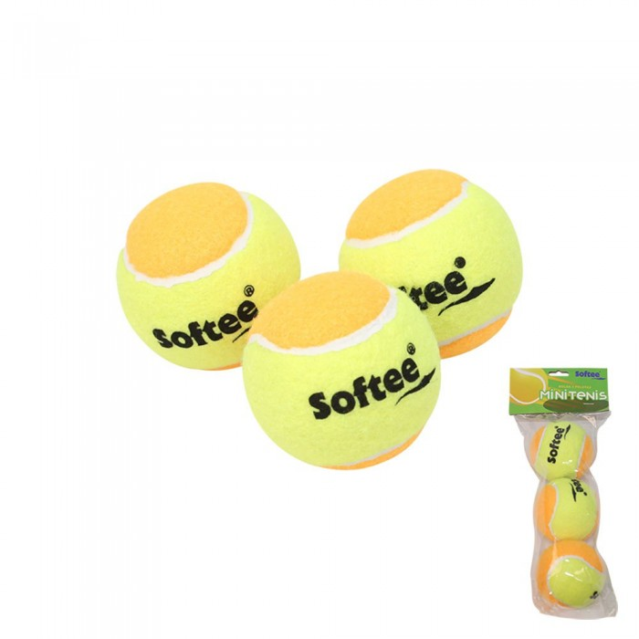 [해외]SOFTEE MiniTennis Balls 12137768136 Yellow / Orange