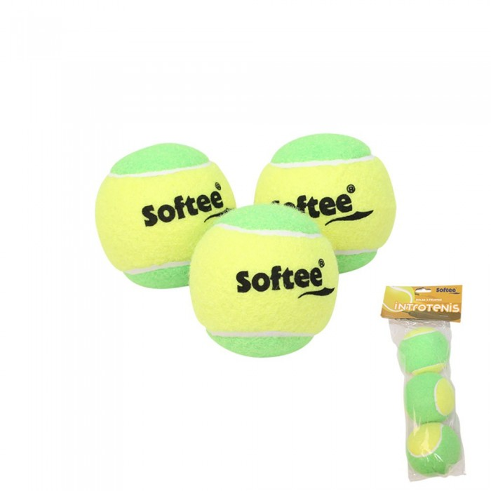 [해외]SOFTEE IntroTennis Balls 12137768137 Yellow / Green