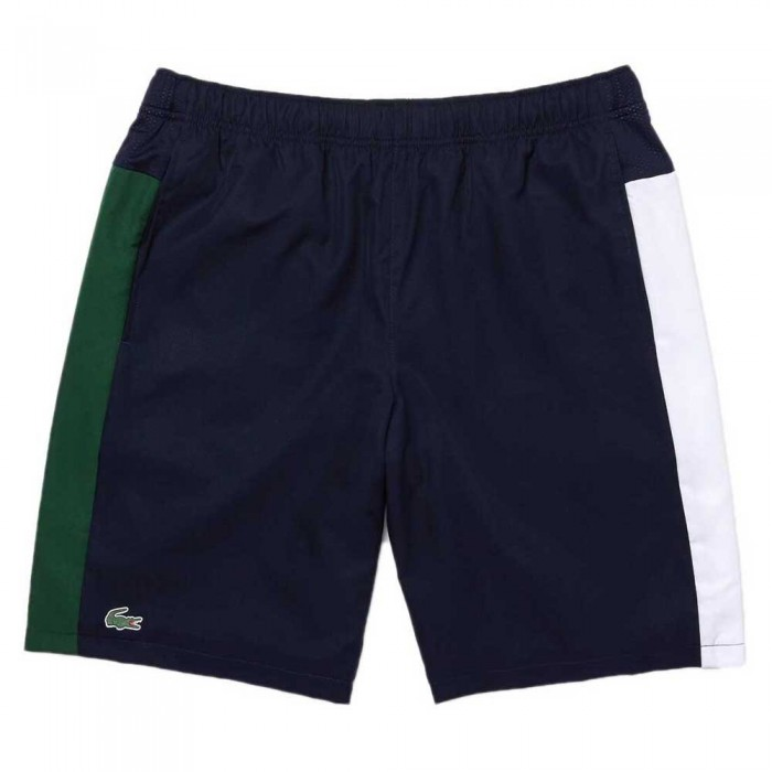 [해외]라코스테 Sport Colourblock Bands Lightweight 12137685077 Navy Blue / Green / White / Green