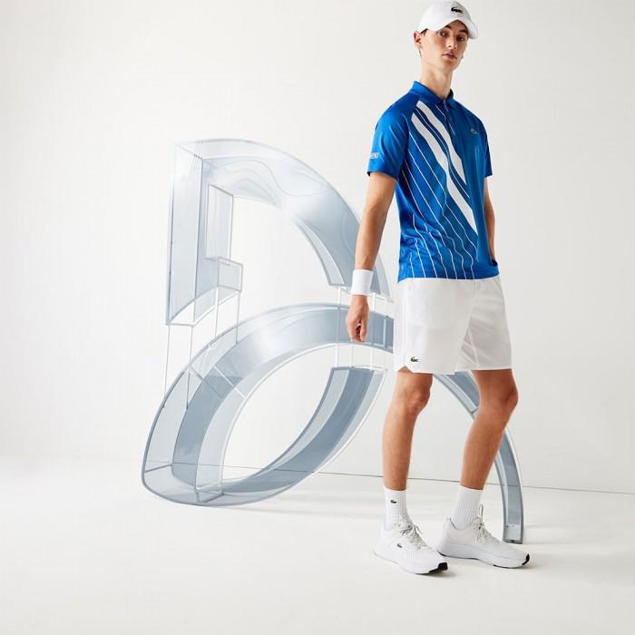 [해외]라코스테 Sport Contrast Stretch Taffeta 12137685081 White / Marina