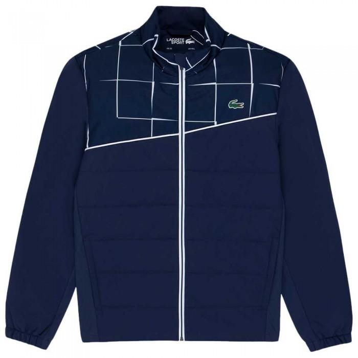 [해외]라코스테 Sport Parka 12137684999 Navy Blue / White