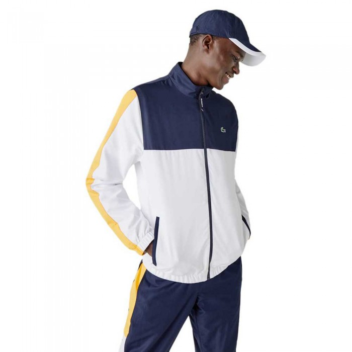 [해외]라코스테 Sport Lightweight Colourblock 12137685365 Navy Blue / White / Yellow