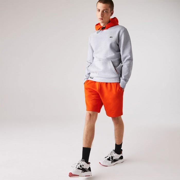 [해외]라코스테 Sport Contrast 12137685219 Grey Chine / Red