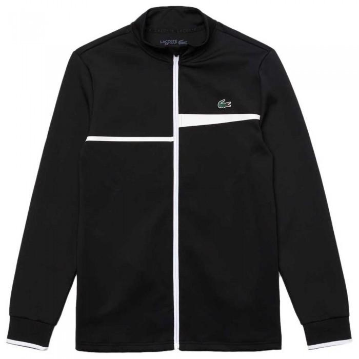 [해외]라코스테 Sport Stand Up Collar 12137685239 Black / White