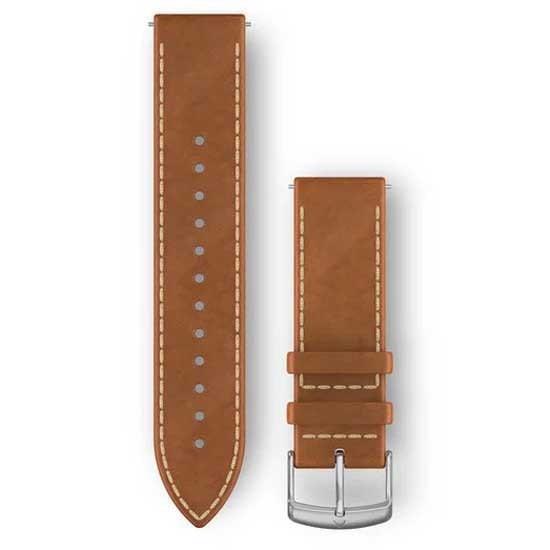 [해외]가민 Quick Release Leather Strap 14137765749 Tan