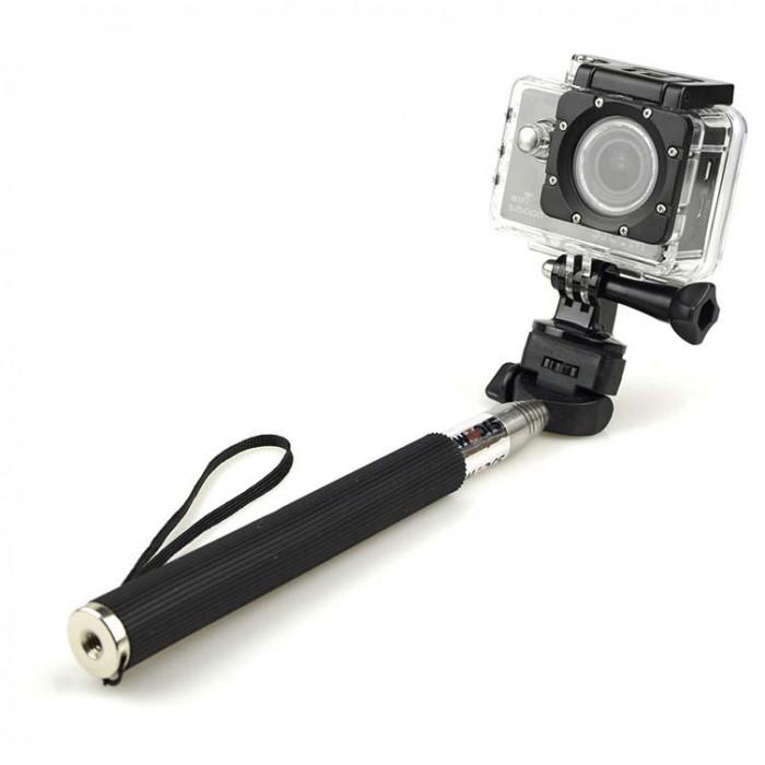 [해외]SJCAM Monopod Selfie Stick 14136510514 Black