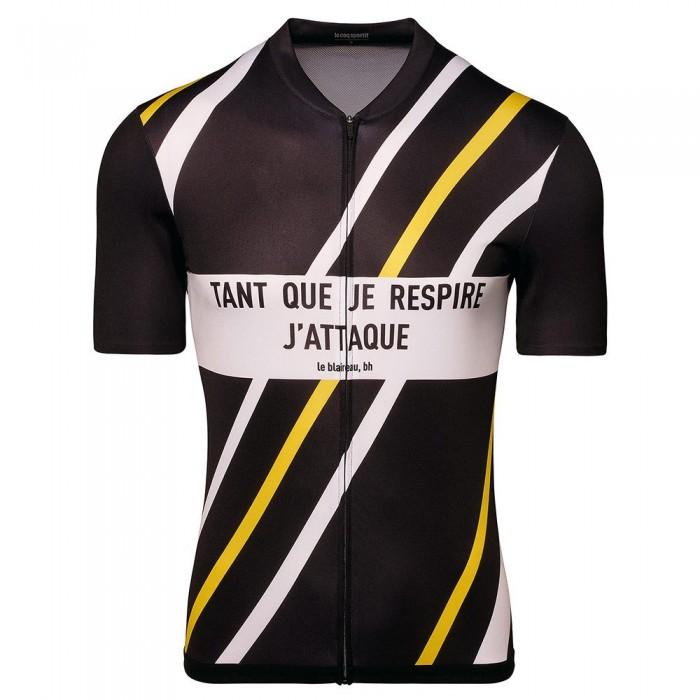 [해외]르꼬끄 Cycling Jersey B.H 1137624253 Black / Empire Yellow