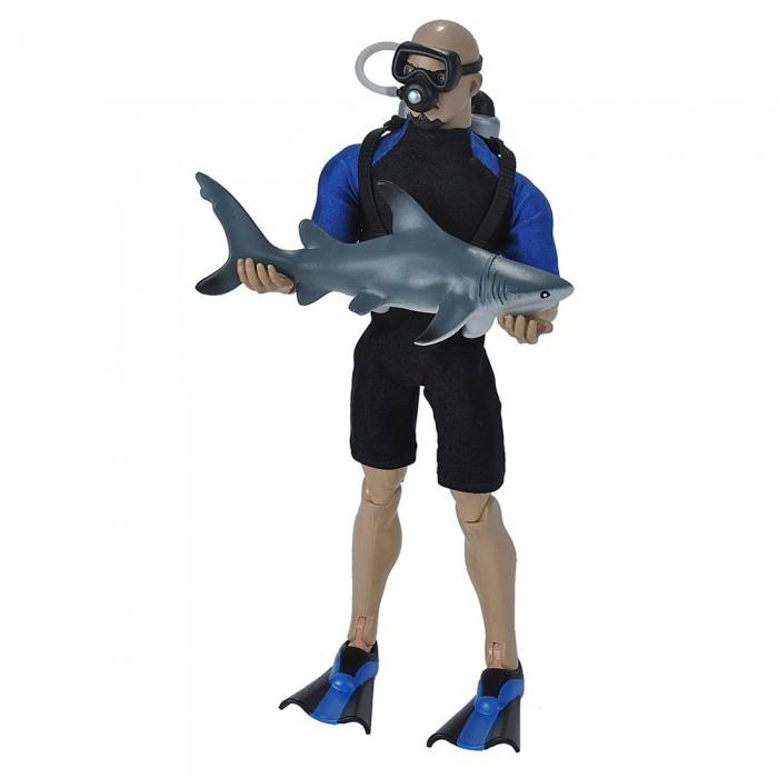 [해외]WILD REPUBLIC Diver With Shark Toy 10137681446 Multicolor