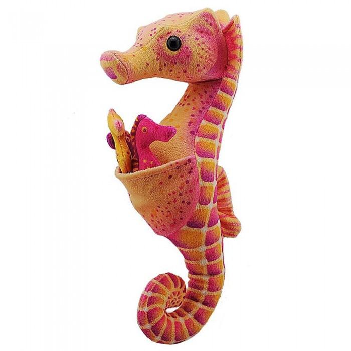 [해외]WILD REPUBLIC Seahorse Dad With Babies Teddy 10137681458 Orange / Red