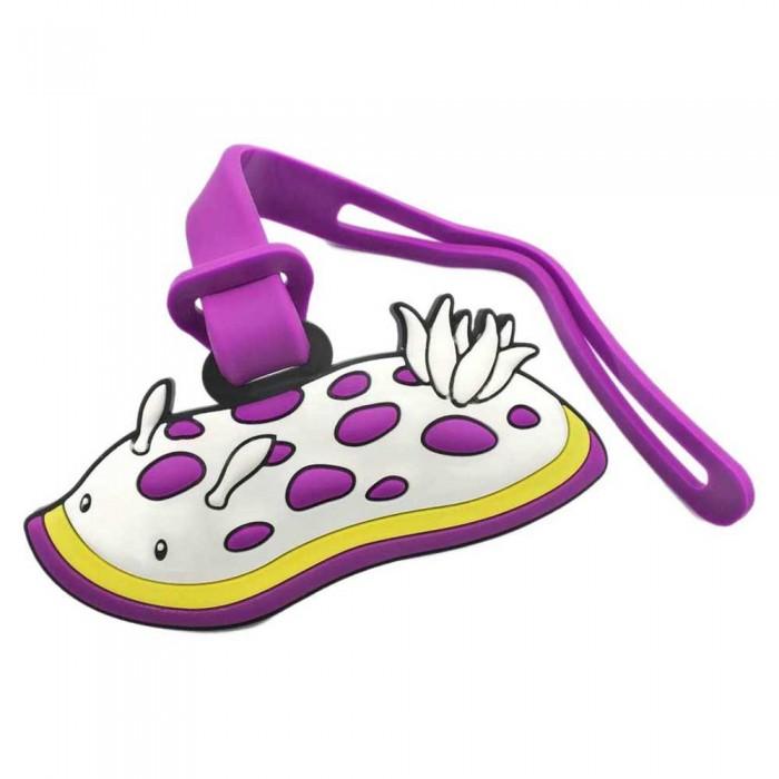 [해외]DIVE INSPIRE Tammy Nudibranch Luggage Tag 10137681467 White / Purple / Yellow