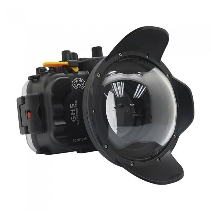 [해외]SEA FROGS Housing For Panasonic Lumix GH5 10137767821 Black