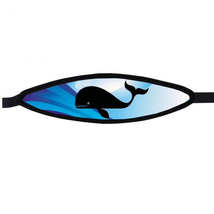 [해외]BEST DIVERS Neoprene Mask Strap Whale 10136810084 With Velcro