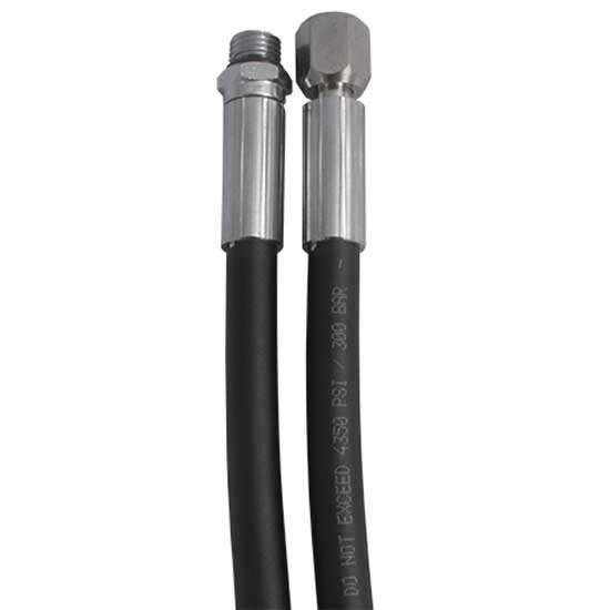 [해외]DIRZONE Rubber HP Hose 20 cm 10137271494 Black
