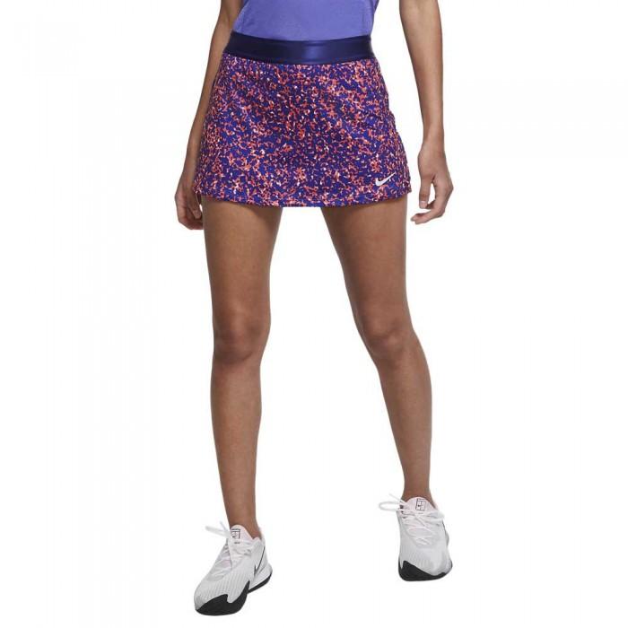 [해외]나이키 Court Dri Fit Printed 12137480026 Regency Purple / White