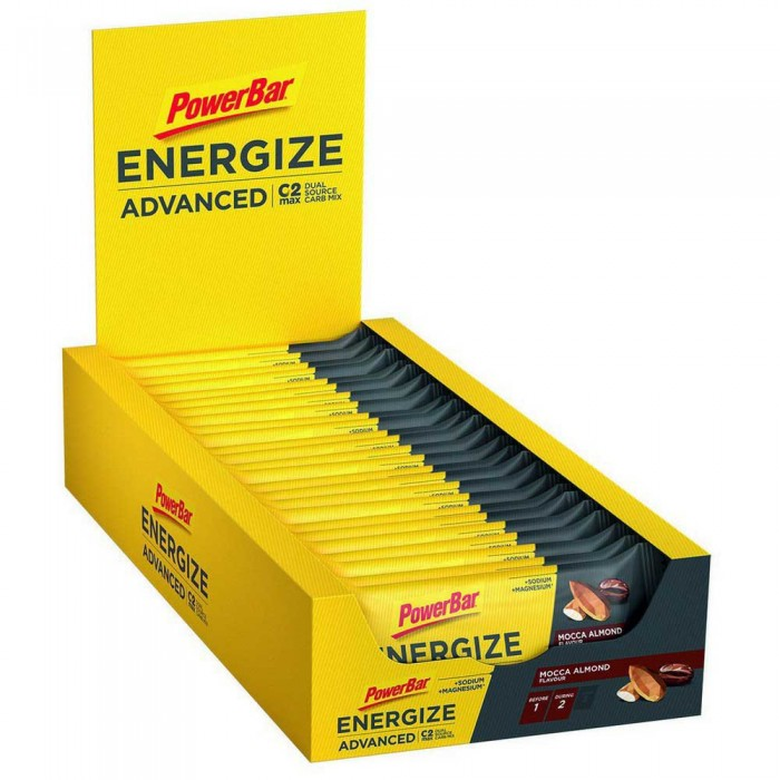 [해외]파워바 Energize Advanced 55gr x 25 Bars 7137740572