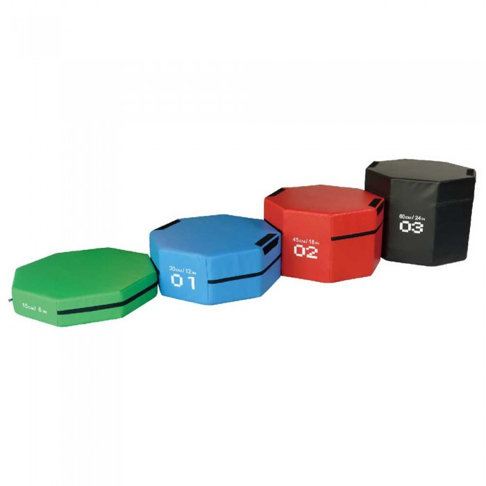 [해외]SOFTEE Octogon Jumping Foam Set 7137772516 Multicolour