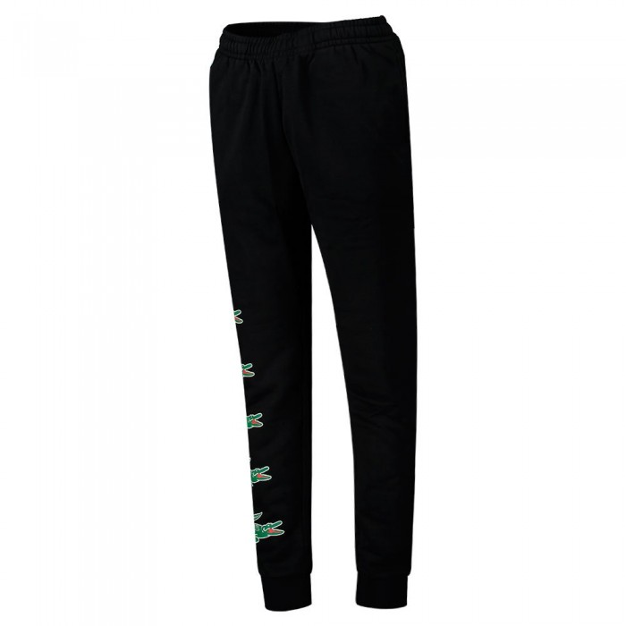 [해외]라코스테 Sport Crocodile Print Jogging 7137648621 Black