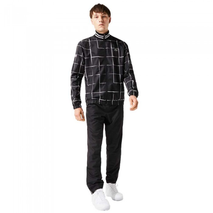 [해외]라코스테 Sport Lightweight Print 7137685358 Black / White
