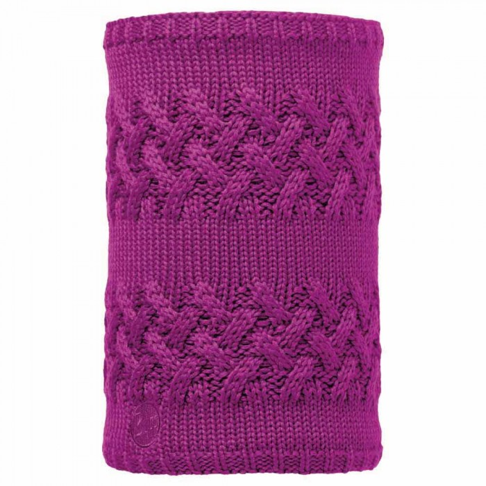 [해외]버프 ? Neckwarmer Knitted And Polar Fleece 6136659277 Savva Mardi Grape