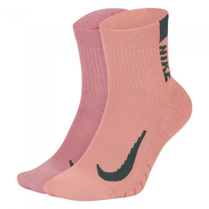[해외]나이키 Multiplier Running Ankle 2 Pairs 6137708183 Multi / Color