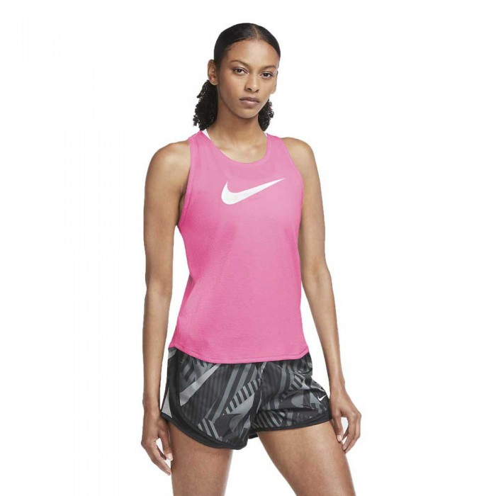 [해외]나이키 Swoosh Run 6137708034 Pink Glow / Reflective Silver / White