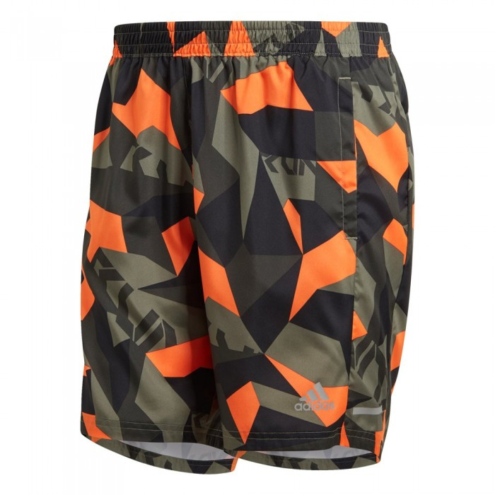 [해외]아디다스 Run It Camo 7´´ 6137664254 Legacy Green / Signal Orange