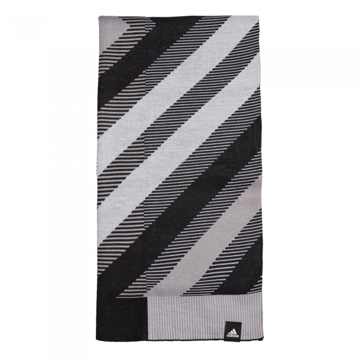[해외]아디다스 Scarf Prime 6137669747 Black / White / Glory Grey / White