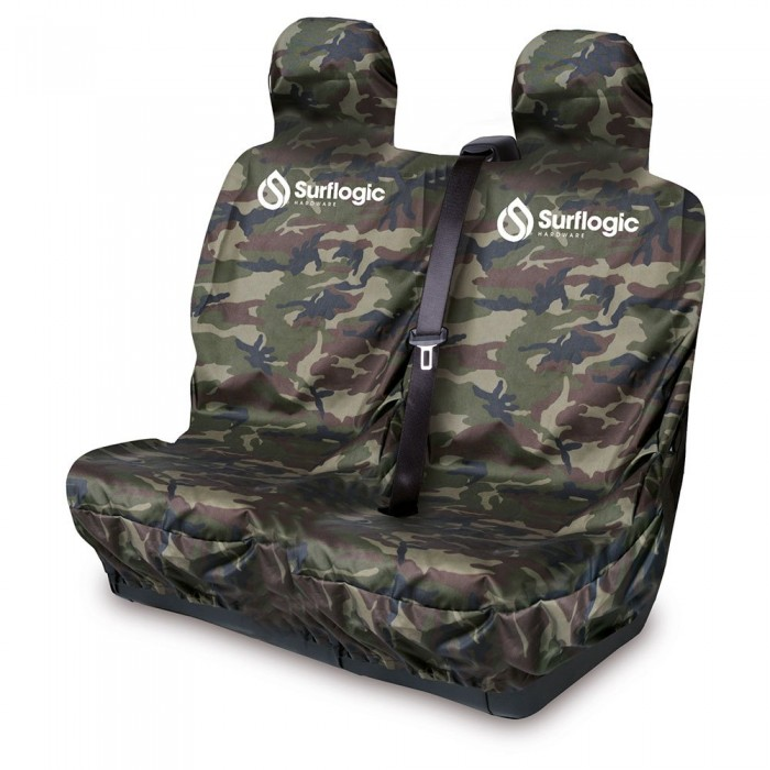 [해외]SURFLOGIC Waterproof Car Seat Double Cover 14137794686 Camo