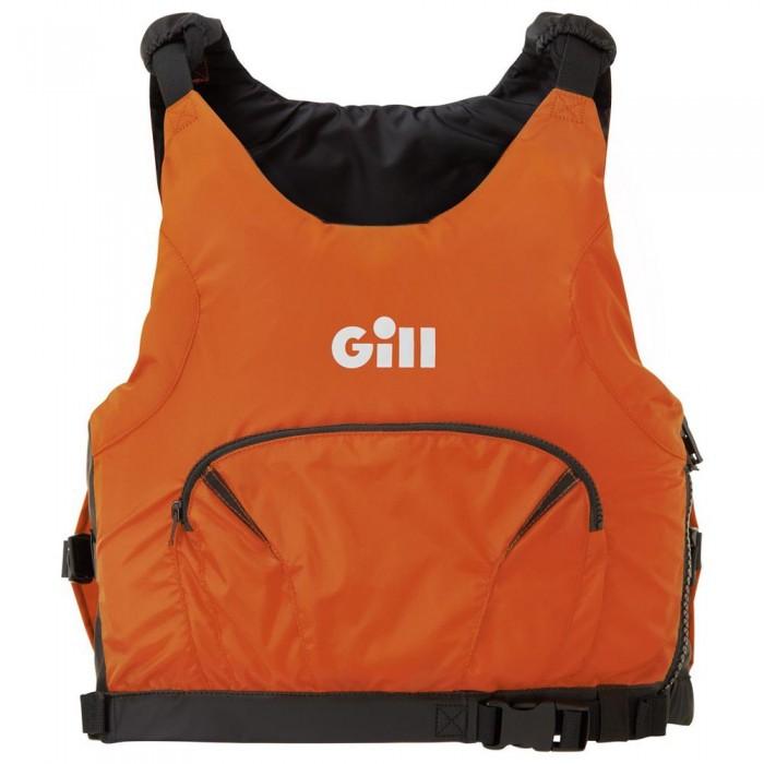[해외]GILL Pro Racer Side Zip Junior 14137323404 Black / Orange