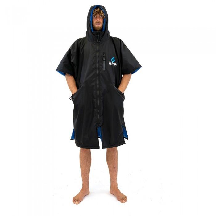 [해외]SURFLOGIC Storm Robe Short 14137794693 Black