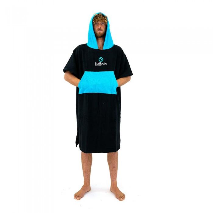 [해외]SURFLOGIC Poncho 14137794699 Black / Cyan