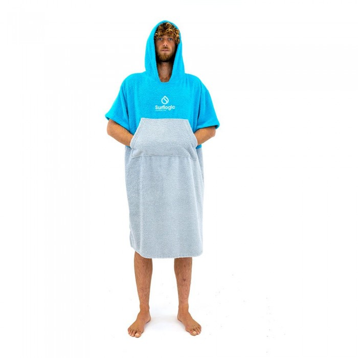 [해외]SURFLOGIC Poncho 14137794700 Cyan / Grey
